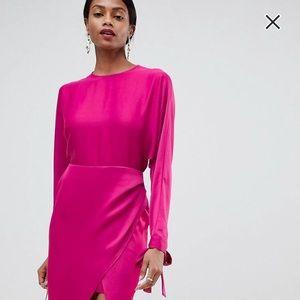 NWT ASOS Pink Maxi Dress 6